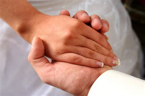 Hand in marriage discussion