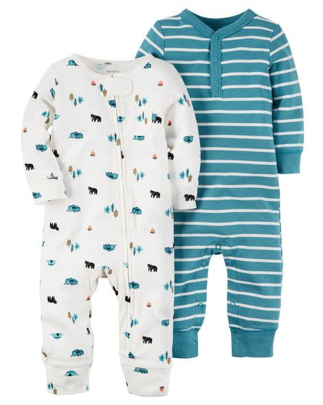 Carters Baby Sleepers by 2 Pack Babysoft Coveralls Carters