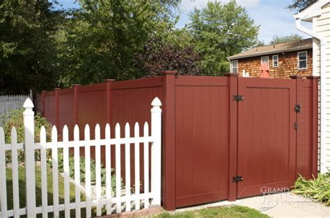 vinyl fence colors pre season fencing sale save 10 free quote vinyl