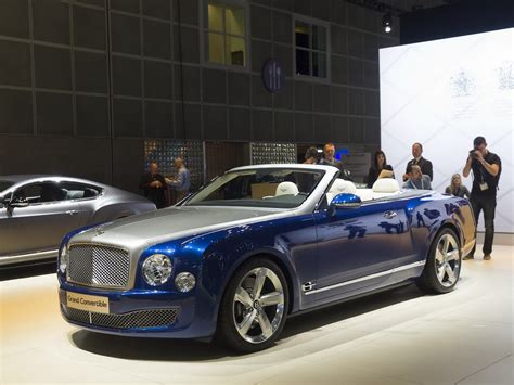 bentley mulsanne convertible 2016 bentley mulsanne grand convertible concept prototype