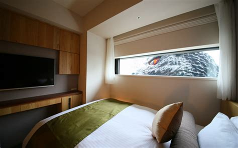 themed hotels in tokyo there s now a hotel in tokyo with godzilla themed rooms