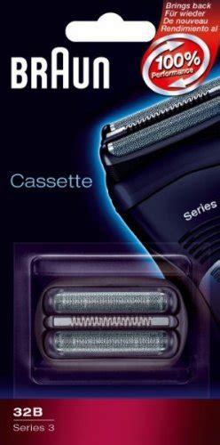 braun 32b cassette braun replacement foil cutter cassette 32b series 3