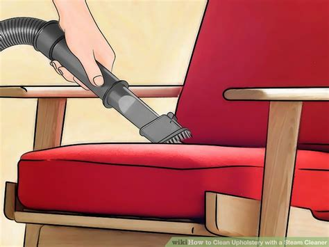 steam clean furniture upholstery how to clean upholstery with a steam cleaner 11 steps
