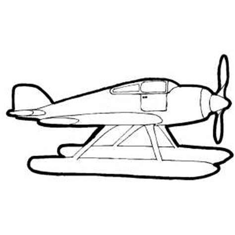 water plane coloring page sea plane coloring page