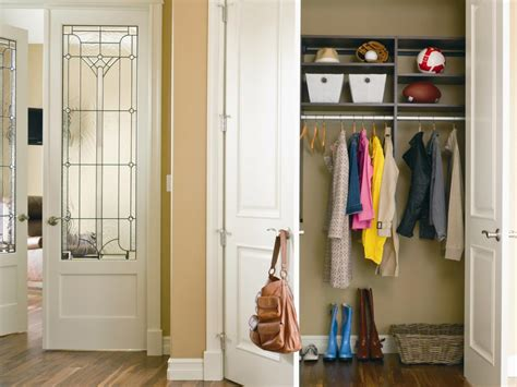 how to organize a closet with sliding doors closet door options ideas for concealing your storage space home remodeling ideas for