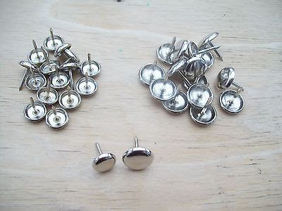nail on metal chair glides 2 sizes silver steel nail furniture table chair pads