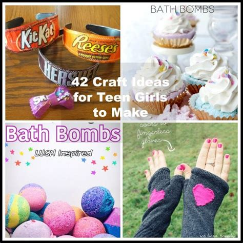 42 craft ideas for to make