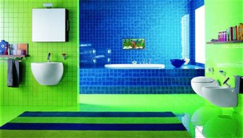 Blue And Green Bathroom Ideas | 43 bright and colorful bathroom design ideas digsdigs