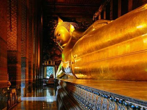 golden reclining buddha bangkok reclining buddha bangkok sacred spaces pinterest