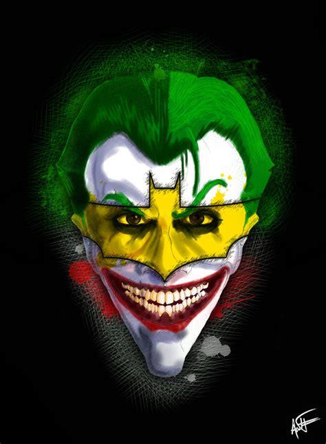 wallpaper garish joker s garish smile by antoni raymond on deviantart