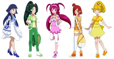 Dress Smile White smile precure as trainers by hapuriainen on