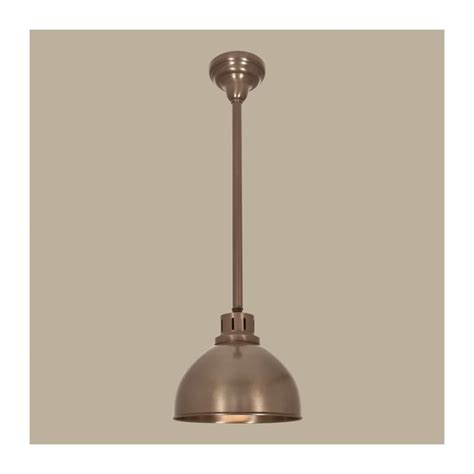 norwell lighting norwell lighting 5148 ar ms architectural bronze with metal shade 1 light pendant from the