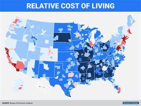 least expensive place to live in usa here are the most and least expensive places to live in