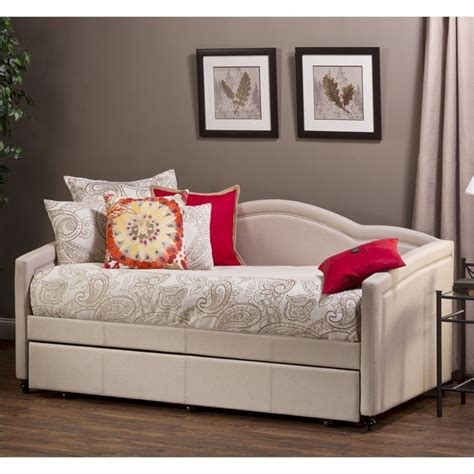 Daybed With Trundle Hillsdale Daybed With Trundle In Linen 1119dbt