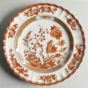 spode indian tree orange rust scallop red trim at replacements ltd page 1