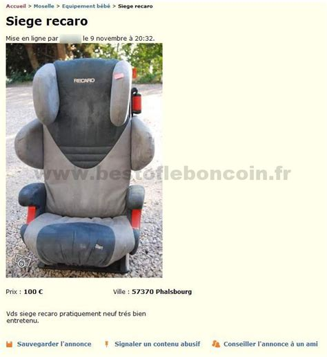 siege recaro bebe si 232 ge recaro equipement b 233 b 233 lorraine best of le bon