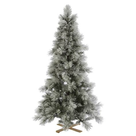vickerman 31596 flocked christmas tree
