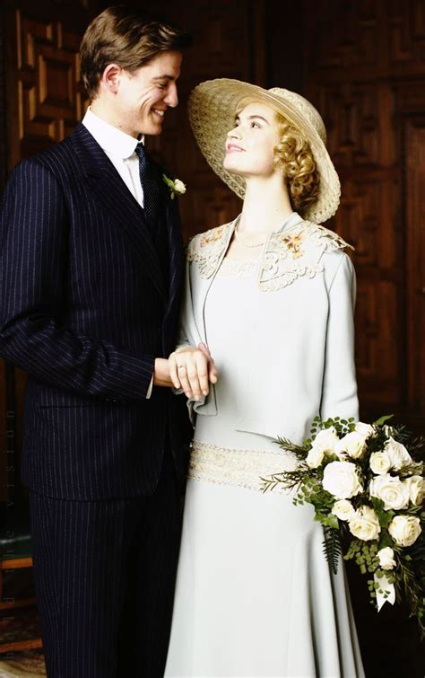 Lily James as Lady Rose MacClare   Matt Barber as Atticus