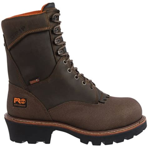 timberland logger boots timberland pro rip saw logger steel toe work boots