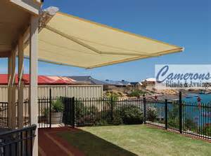 camerons blinds amp awnings folding arm awnings