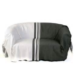 jet 233 pour canap 233 format rectangulaire noir et blanc 100