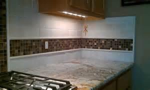 Grout Kitchen Backsplash kitchen back splash travertine sub way and glass mosaic