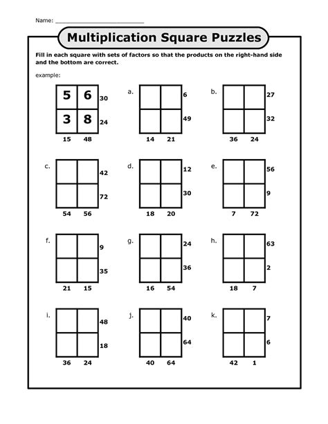 printable games algebra math puzzles for kids www pixshark com images