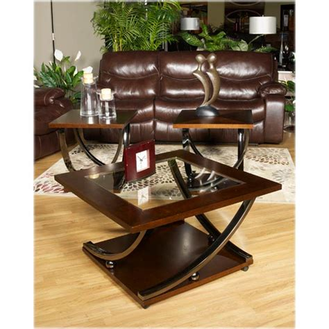 Rollins Coffee Table T628 8 Furniture Square Cocktail Table