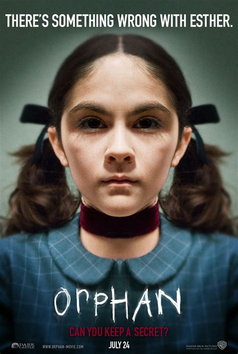 orphan film poster orphan dvd review collider collider
