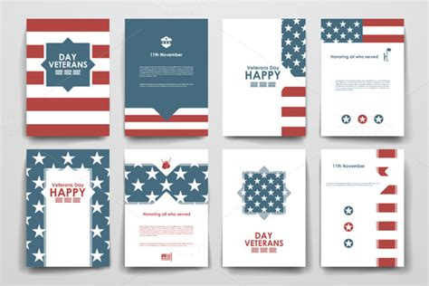 Veterans Day Program Flyer Templates Free 187 Designtube Creative Design Content Veterans Day Program Template