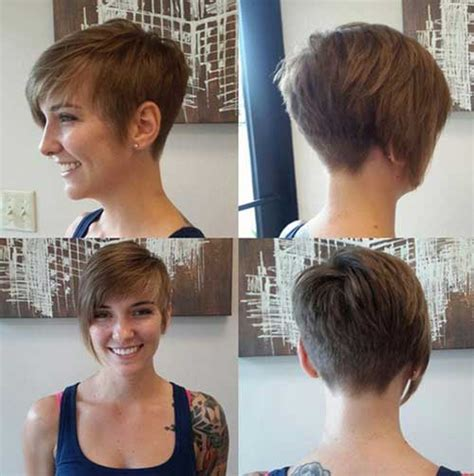 back view asymmetrical pixie trendy pixie cut styles you should try in 2016 short