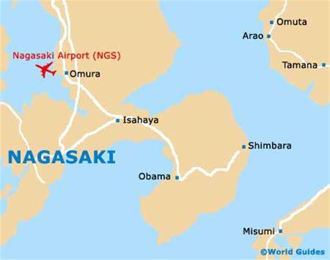 nagasaki map nagasaki maps and orientation nagasaki kyushu japan