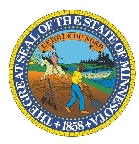 Seal Sticker Made minnesota state seal sticker made in the usa r542 ebay