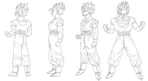dragon ball z battle of gods 2 coloring pages 34 lineart gohan battle of gods by keikuro on deviantart