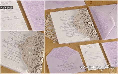 unique wedding invitations stationery unique wedding invitations letterpress wedding stationery lilac beige ivory onewed