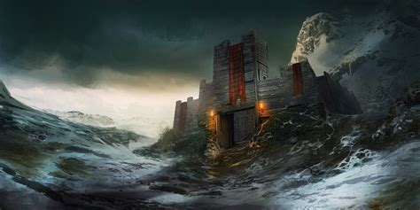 super awesome futuristic castles and fortresses 1