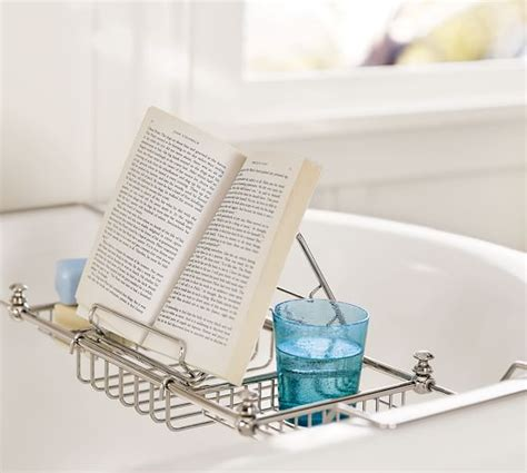 bathtub reading mercer bathtub caddy pottery barn