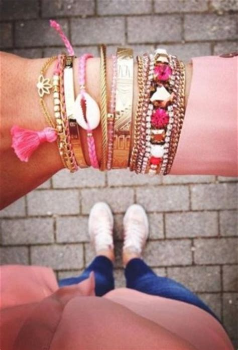 arm candy bracelets  trendy girls