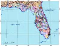 editable florida map with cities roads areas