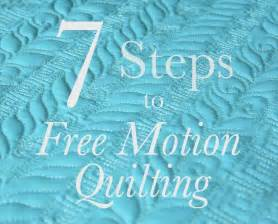 Fabric Bookshelf Seven Steps To Free Motion Quilting The Inbox Jaunt