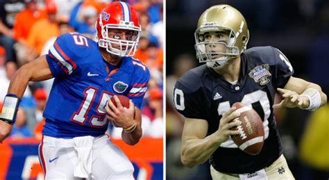 was tim tebow right about florida vs notre dame nfl