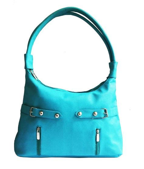 buy bags bucks turquoise shoulder bag at best prices in
