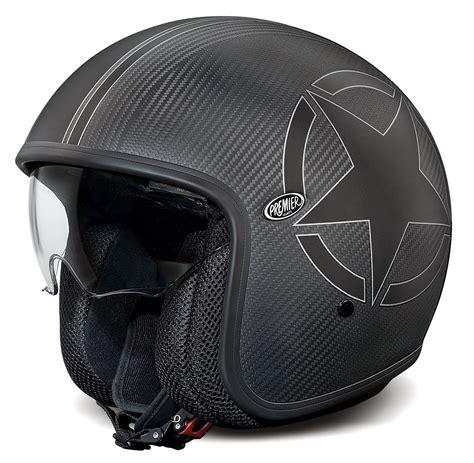 Premier Helm by Premier Jet Helm Vintage Carbon Im Thunderbike Shop
