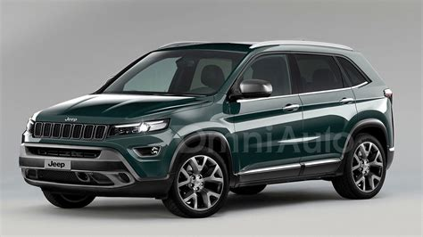 Jeep Hybrid Suv 2017 Jeep Compact Suv Rendered Prior To March Reveal
