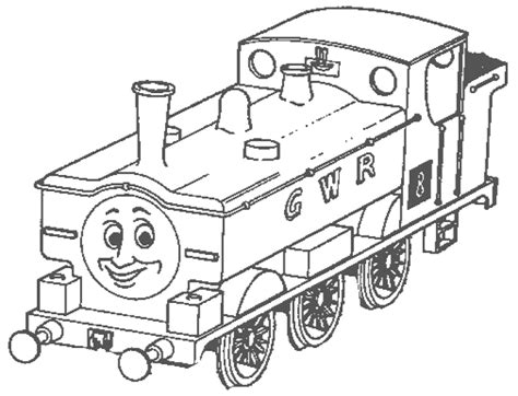 coloring page thomas and friends coloring pages 5