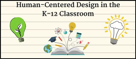 design thinking in the classroom human centered design thinking in the k 12 classroom