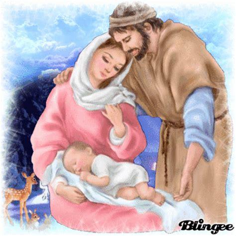 imagenes de jesus jose y maria en el pesebre jose y maria y el ni 209 o que acaba de nacer fotograf 237 a