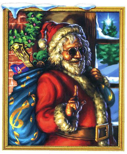 jerry garcia   grateful dead santa claus merry christmas flickr photo sharing