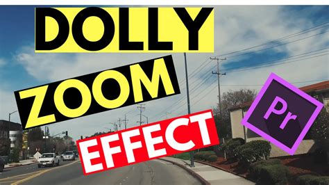 adobe premiere pro zoom effect dolly zoom vertigo effect tutorial for beginners adobe