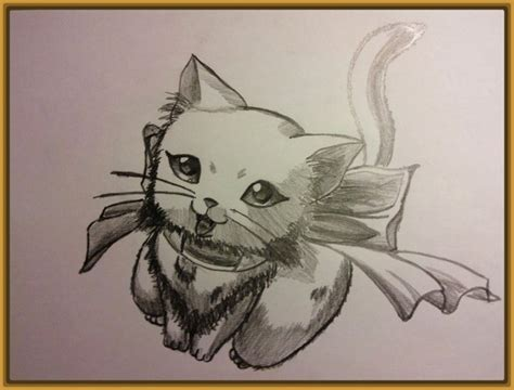 imagenes tiernas a lapiz gatitos tiernos para dibujar a lapiz archivos gatitos